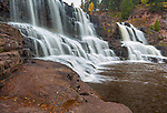 Gooseberry Falls State Park, MN: Middle Falls of Gooseberry Falls