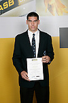 Michael Boxall, MT Albert Grammar School, All Rounder - Soccer, Athletics, Volleyball. ASB College Sport Young Sportsperson of the Year Awards 2006, held at Eden Park on Thursday 16th of November 2006.<br />
