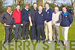 TEAM: Members of the Ballyheigue golf team who took part in The County Clubs Competition at Ardfert Golf Club on Saturday morning were l-r: Brendan Dunne, Padraig Dineen, John Leen, Declan McCann, Willie Barrett (Capt.), Joseph O'Connor, Jerrie Horan and Paul O'Connor.   Copyright Kerry's Eye 2008