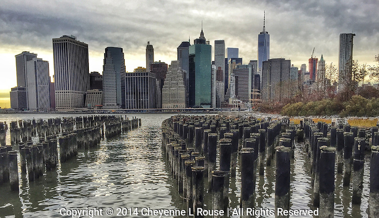 NYC Skyline - Brooklyn Bridge Park (iPhone 6)<br />