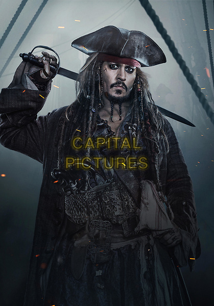 Pirates of the Caribbean: Dead Men Tell No Tales (2017) <br /> Johnny Depp as Captain Jack Sparrow<br /> *Filmstill - Editorial Use Only*<br /> CAP/PLF<br /> Supplied by Capital Pictures