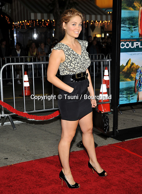 Erika Christensen -<br /> Couples Retreat Premiere at the Westwood Village Theatre In Los Angeles.