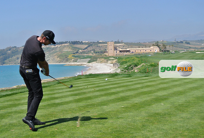 Andrew Parr (CAN) on Day 4 of the 2012 Sicilian Open at Verdura Golf and Spa Resort, Sicily, Italy...(Photo Jenny Matthews/www.golffile.ie)