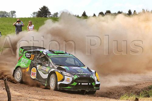 02.07.2016. Mikolajki, Poland. WRC Rally of Poland, stages 12-17.  RAJHI