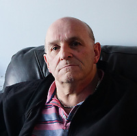 BNPS.co.uk (01202 558833)<br /> Pic: ColinHayes/BNPS<br /> <br /> Colin Hayes weighed 19 stone when he fell.<br /> <br /> An overweight man who fell down a flight of stairs says his life was saved by his big belly.<br /> <br /> Colin Hayes, 61, suffered a bleed on the brain when he tumbled down the stairs at a pub in Bournemouth, Dorset.<br /> <br /> But he is adamant he would have been killed had his stomach not cushioned his fall and taken some of its impact.