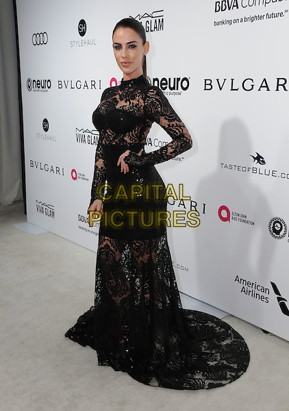 26 February 2017 - West Hollywood, California - Jessica Lowndes. 25th Annual Elton John Academy Awards Viewing Party held at West Hollywood Park. <br /> CAP/ADM/BT<br /> &copy;BT/ADM/Capital Pictures