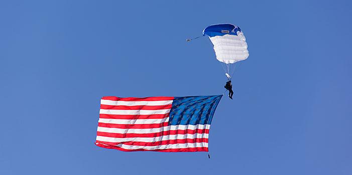 Air show at Nellis Air Force Base, Las Vegas, Nevada.