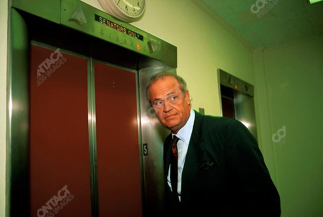 Senator Fred Thompson (R-Tenn), in the Capitol Building. Washington, D.C., November 1995.
