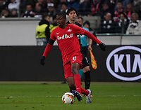 Enock Mwepu (RB Salzburg, #45) - 20.02.2020: Eintracht Frankfurt vs. RB Salzburg, UEFA Europa League, Hinspiel Round of 32, Commerzbank Arena DISCLAIMER: DFL regulations prohibit any use of photographs as image sequences and/or quasi-video.