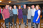 West Limerick Ceili in the Devon Inn Hotel, Templeglantine on Sunday evening.  Pictured here L-R Ed Doran of Brosna, Caroline O'Sullivan Ardgroom, Maurice Geary of Kilorglen, Phil O'Sullivan of Ballyseedy, TJ Nelligan of Castleisland, Margaret Conway of Gortatlea, Michael Moynahan of Kilcummin and Elizabeth Kelliher of Kilgarvan.