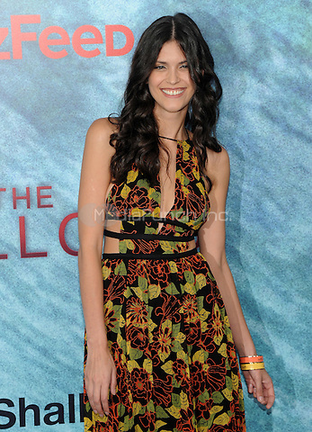 "NEW YORK, NY - June 21:Thais Oliviera attends the NEw York premiere for ""The Shallow"" at the Loews AMC on June 21, 2016   in New York City .  Photo Credit: John Palmer/ MediaPunch"