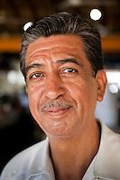 Portrait, musicians at Restaurant Amigo Miguel costera Miguel Aleman. Acapulco, Guerrero, Mexico