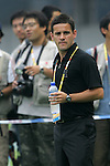 06 August 2008: New Zealand head coach John Herdman (GBR).  The women's Olympic team of New Zealand tied the women's Olympic soccer team of Japan 2-2 at Qinhuangdao Olympic Center Stadium in Qinhuangdao, China in a Group G round-robin match in the Women's Olympic Football competition.