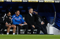 16.12.2012 SPAIN -  La Liga 12/13 Matchday 16th  match played between Real Madrid CF vs  RCD Espanyol (2-2) at Santiago Bernabeu stadium. The picture show Javier Aguirre coach of Espanyol
