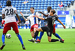v.l. Adrian Fein, Stephan Ambrosius (HSV), Kevin Behrens<br />Hamburg, 28.06.2020, Fussball 2. Bundesliga, Hamburger SV - SV Sandhausen<br />Foto: VWitters/Witters/Pool//via nordphoto<br /> DFL REGULATIONS PROHIBIT ANY USE OF PHOTOGRAPHS AS IMAGE SEQUENCES AND OR QUASI VIDEO<br />EDITORIAL USE ONLY<br />NATIONAL AND INTERNATIONAL NEWS AGENCIES OUT