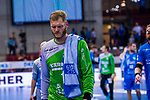 BITTER, Johannes (#1 TVB 1898 Stuttgart) \ beim Spiel in der Handball Bundesliga, TVB 1898 Stuttgart - Bergischer HC.<br /> <br /> Foto © PIX-Sportfotos *** Foto ist honorarpflichtig! *** Auf Anfrage in hoeherer Qualitaet/Aufloesung. Belegexemplar erbeten. Veroeffentlichung ausschliesslich fuer journalistisch-publizistische Zwecke. For editorial use only.