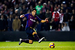 Luis Alberto Suarez Diaz of FC Barcelona in action during the La Liga 2018-19 match between Rayo Vallecano and FC Barcelona at Estadio de Vallecas, on November 03 2018 in Madrid, Spain. Photo by Diego Gouto / Power Sport Images