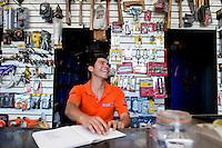 Elmer Enrique Picos Sarabia. Hardware store owners in Culiacan, Sinaloa,  Mexico