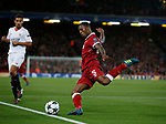 Georginio Wijnaldum of Liverpool clears the ball during the Champions League Group E match at the Anfield Stadium, Liverpool. Picture date 13th September 2017. Picture credit should read: Simon Bellis/Sportimage