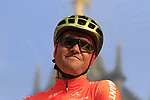 Olympic Champion Greg Van Avermaet (BEL) CCC Team at the team presentation in Antwerp before the start of the 2019 Ronde Van Vlaanderen 270km from Antwerp to Oudenaarde, Belgium. 7th April 2019.<br /> Picture: Eoin Clarke | Cyclefile<br /> <br /> All photos usage must carry mandatory copyright credit (&copy; Cyclefile | Eoin Clarke)