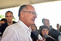 CAMPINAS,SP - 02.03.2017 - ALCKMIN-SP - O governador Geraldo Alckmin, durante inauguração da 4ª faixa de rolamento da Rodovia dos Bandeirantes (SP 348), entre os Km 87,4 a 89,5, sentido capital, na manhã desta quinta-feira, 02, na cidade de Campinas, interior do estado de São Paulo. (Foto: Eduardo Carmim/Brazil Photo Press)