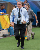 Pitt Sports Information Director EJ Borghetti. The Pitt Panthers defeated the Syracuse Orange 44-37 in overtime at Heinz Field in Pittsburgh, Pennsylvania on October 6, 2018.