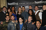 "Cast of Hustling - Days of Our Lives Kevin Spirtas and Sebastian La Cause, Marc Sinoway (OLTL, ATWT, AMC), Daphne Rubin-Vega, Gerald McCullouch (CSI) star in the third and final season of ""Hustling"" and attend the screening on December 16, at the Tribeca Cinemas, New York City, New York. The evening had a red carpet, cocktails and the screening. (Photo by Sue Coflin/Max Photos)"