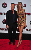 Bronx, NY - May 14: Josh Brolin ,Kathryn Boyd attends the 'Deadpool 2' screening at AMC Loews Lincoln Square on May 14, 2018 in New York City..  <br /> CAP/MPI/PAL<br /> &copy;PAL/MPI/Capital Pictures