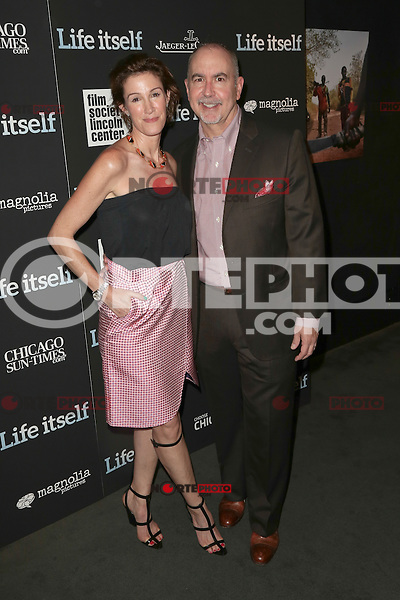 New York, NY - June 23 : Rachel Winter and Terence Winter<br /> attend the New York Premiere of Life Itself<br /> held at the Film Society of Lincoln Center Walter Reade Theater<br /> on June 23, 2014 in New York City. Photo by Brent N. Clarke / Starlitepics