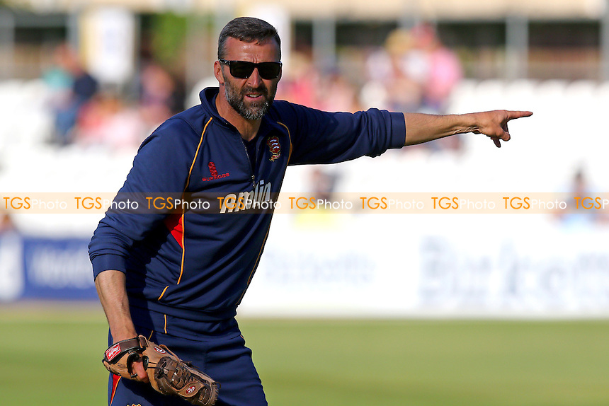 Essex head coach Paul Grayson - Essex Eagles vs Gloucestershire - NatWest T20 Blast Cricket at the Essex County Ground, Chelmsford, Essex - 11/06/15 - MANDATORY CREDIT: Gavin Ellis/TGSPHOTO - Self billing applies where appropriate - contact@tgsphoto.co.uk - NO UNPAID USE