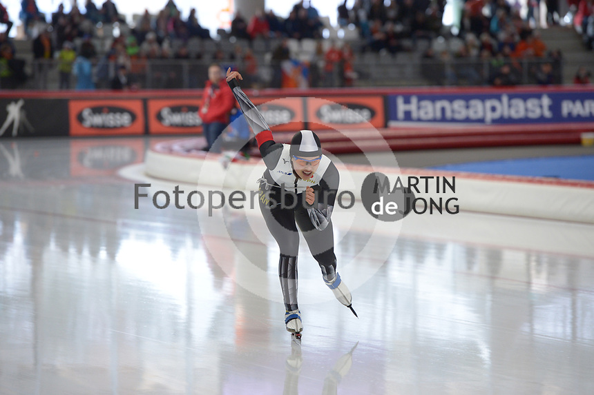 SPEEDSKATING: INZELL: Max Aicher Arena, 09-02-2019, ISU World Single Distances Speed Skating Championships, 5000m Ladies, Lemi Williamson (JPN), ©photo Martin de Jong