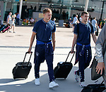 22.06.2019 Rangers arrive in Portugal: Greg Stewart and Jon Flanagan