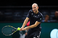 1st November 2019, AccorHotels Arena, Bercy, Paris, France; Rolex Paris Masters tennis tournament;  Adrian Mannarino (FRA)