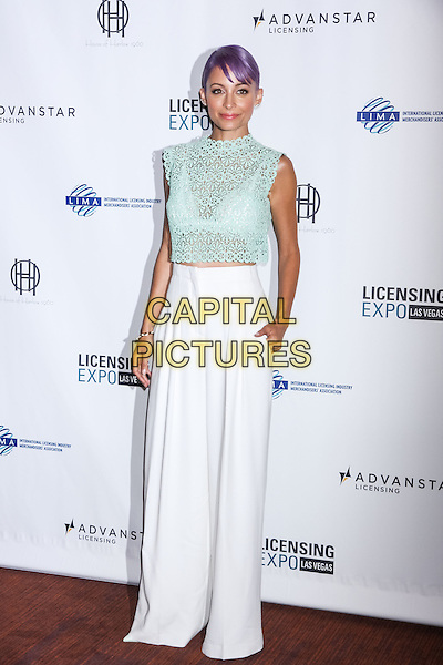 LAS VEGAS, NV - June 17 : Nicole Richie at Licensing Expo 2014 at Mandalay Bay in Las Vegas, NV on June 17, 2014. <br /> CAP/MPI/RTNKabik<br /> &copy;RTNKabik/MediaPunch/Capital Pictures