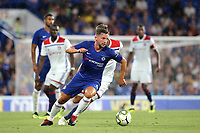 Danny Drinkwater of Chelsea in action during Chelsea vs Lyon, International Champions Cup Football at Stamford Bridge on 7th August 2018