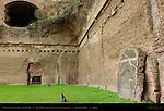 Baths of Caracalla West Palaestra (Greek Wrestling room) Aventine Hill Rome
