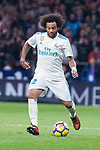 Real Madrid Marcelo during La Liga match between Atletico de Madrid and Real Madrid at Wanda Metropolitano in Madrid, Spain. November 18, 2017. (ALTERPHOTOS/Borja B.Hojas)
