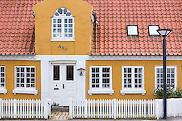 Traditional building in Fano - Fanoe -  in Denmark