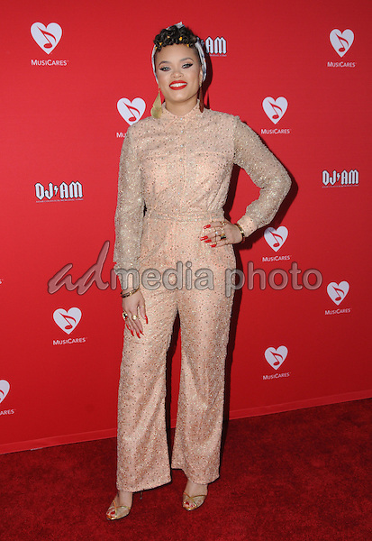 19 May 2016 - Los Angeles, California - Andra Day. Arrivals for the 12th Annual MusiCares MAP Fund Benefit Concert Honoring Smokey Robinson held at The Novo by Micosoft. Photo Credit: Birdie Thompson/AdMedia
