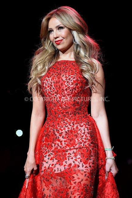 WWW.ACEPIXS.COM<br /> February 12, 2015 New York City<br /> <br /> Thalia walks the runway at the Go Red For Women Red Dress Collection 2015 presented by Macy's fashion show during Mercedes-Benz Fashion Week Fall 2015 at The Theatre at Lincoln Center on February 12, 2015 in New York City.<br /> <br /> Please byline: Kristin Callahan/AcePictures<br /> <br /> ACEPIXS.COM<br /> <br /> Tel: (646) 769 0430<br /> e-mail: info@acepixs.com<br /> web: http://www.acepixs.com