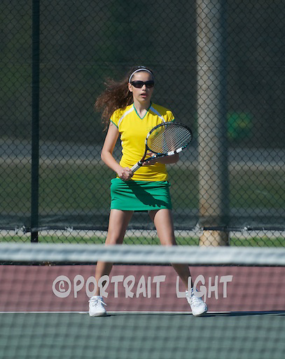 TRHS eighth-grader Natalia Dorogi (second singles), of Marlboro.
