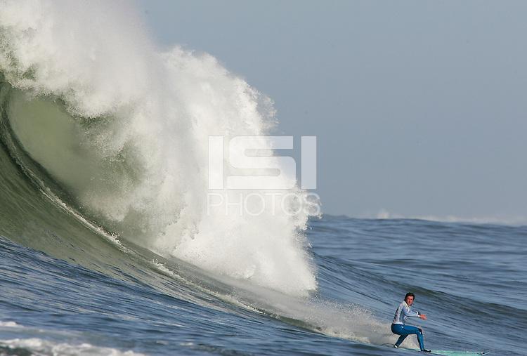 Shane Desmond. Mavericks Surf Contest in Half Moon Bay, California on February 13th, 2010.