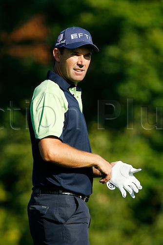 12 August 2009:  Padraig Harrington in action during the third preview day of the 91st PGA Championship at Hazeltine National Golf Club on August 12, 2009 in Chaska, Minnesota.(Photo:Charles Baus/Actionplus)