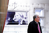 Retired Admiral Jay Cohen stands in the lobby of Trump Tower following a meeting with President-elect Donald Trump in New York, New York, USA, 02 December 2016.<br /> Credit: Justin Lane / Pool via CNP