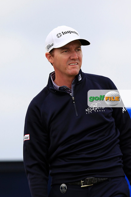 Jimmy WALKER (USA) tees off the 15th tee during Sunday's Round 3 of the 144th Open Championship, St Andrews Old Course, St Andrews, Fife, Scotland. 19/07/2015.<br /> Picture Eoin Clarke, www.golffile.ie