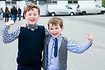 Enjoying  Ladies Day at Listowel Summer Race meeting on Sunday were Kieran Moriarty and Brendan Moriarty