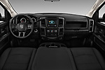 Stock photo of straight dashboard view of a 2018 Ram Ram 2500 Pickup Tradesman 4wd Crew Cab LWB 4 Door Pick Up