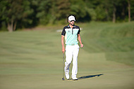 Gainesville, VA - August 2, 2015:  Troy Merritt walks the 18th hole at the Robert Trent Jones Golf Club in Gainesville, VA. August 2, 2015.  (Photo by Philip Peters/Media Images International)
