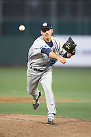 West Michigan Whitecaps pitcher Slade Smith #26 during a Midwest League game against the South Bend Silver Hawks at Coveleski Stadium on August 15, 2012 in South Bend, Indiana.  West Michigan defeated South bend 7-1.  (Mike Janes/Four Seam Images)