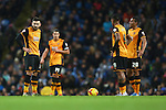 Hull dejected after the second goal - Manchester City vs Hull City - Capital One Cup - Etihad Stadium - Manchester - 01/12/2015 Pic Philip Oldham/SportImage